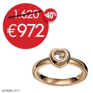 Chopard 'Miss Happy' ring ref:829006-1111